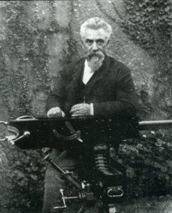 Hiram Maxim retrato
