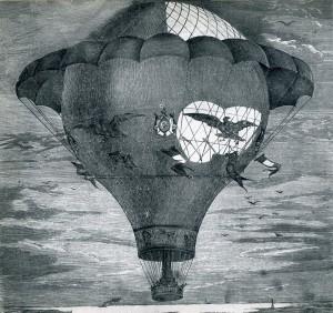L'Aigle, globo de Godard