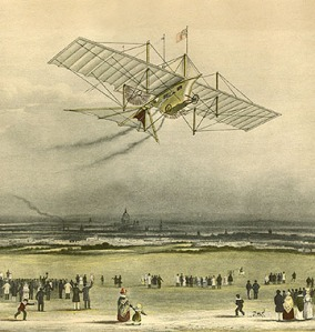 1843_engraving_of_the_Aerial_Steam_Carriage