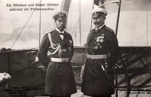 12the emperors-HH_II_MM_ Tsar Nicholas II of Russia and Kaiser Wilhelm II of Prussia