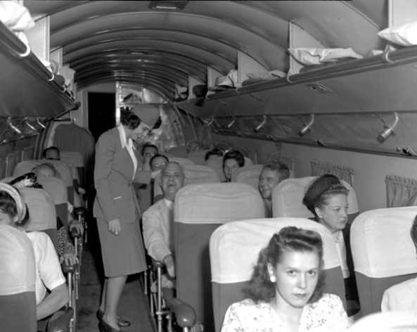 Delta DC-3 interior