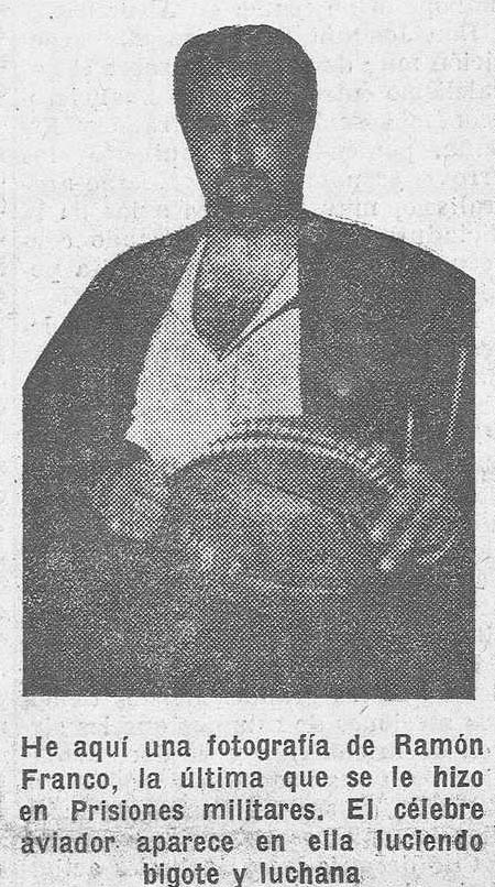 Ramón Franco en la cárcel_1930