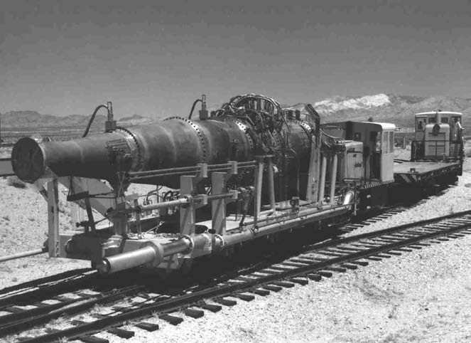 Tory II-C estatoreactor nuclear, 1963 Nevada